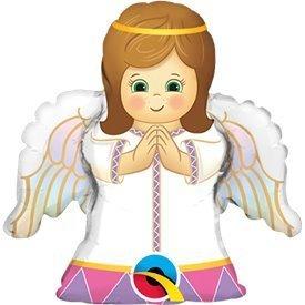 Globo Angel Baby niña palito 35cm