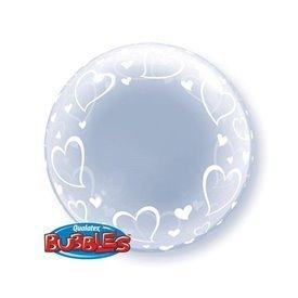 Globo Corazones Burbuja Bubble