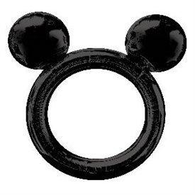 Globo foil forma marco selfie Mickey