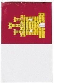 Bandera plastico C. Mancha 50 metros