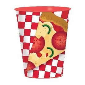 Vaso plastico Pizza Party (1)