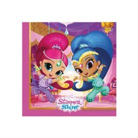 Servilletas Shimmer & Shine Friends (20)