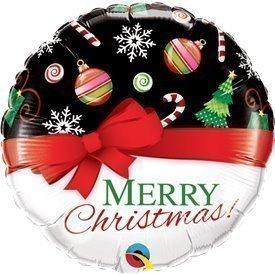 """Globo Foil """"Merry Christmas"""" de 46cm"""