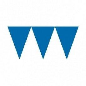 Banderines Triangulos Color Azul Fuerte (4,5 m aprox)