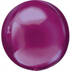 Globo Forma Esfera de 40 cm Color FUCSIA
