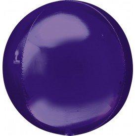 Globo Forma Esfera de 40 cm Color MORADO