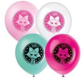 Globos latex Lol Surprise de 30cm (8)