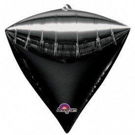 Globo Forma Diamante de 43 cm aprox Color NEGRO