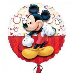 Globo foil Mickey Retrato de 45cm