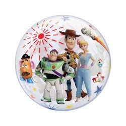 Globo Toy Story 4 Burbuja Bubble de 56cm