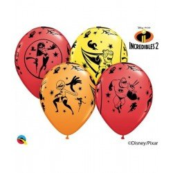 Globos Latex Los Increibles (6)