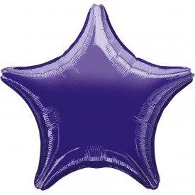 Globo Con Forma de Estrella de Aprox 47cm Color MORADO -