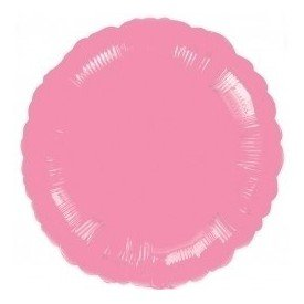 Globo Con Forma de Circulo de Aprox 45cm Color ROSA CHICLE -