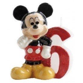 Velas Mickey 6