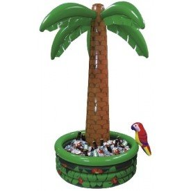 Palmera (1) Hinchable con Base para Refescrar de 1,8 M